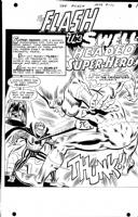 Ross Andru - Flash 177 Pg 1 Comic Art